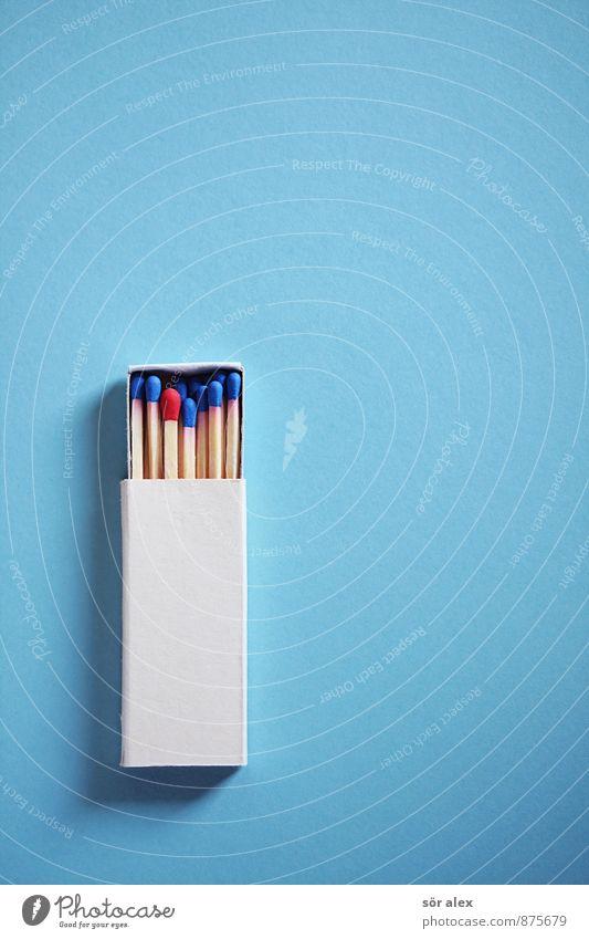 Alleinstellungsmerkmal blau weiß rot Arbeit & Erwerbstätigkeit Business Kraft Erfolg Studium lernen Coolness einzigartig Bildung Mut Sitzung Karriere