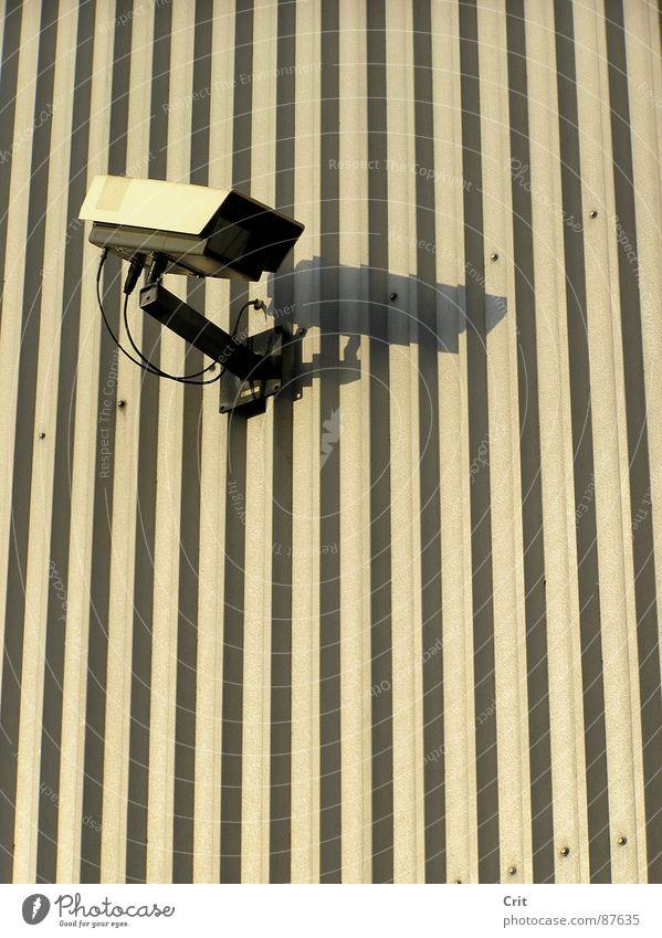 big brother See ungesetzlich Sicherheit camera Überwachungsstaat alone watch eye legal robot Mauer
