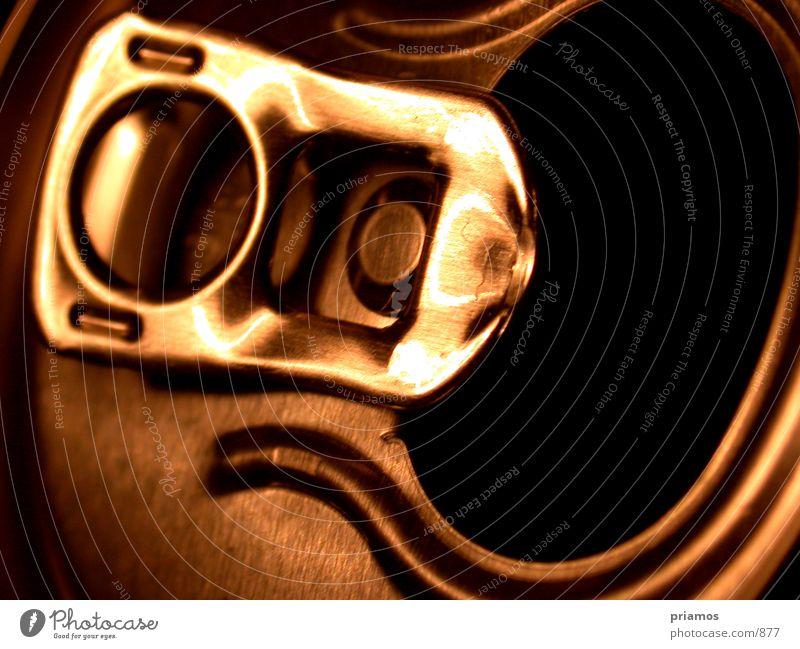 Verschluss Getränk Dose Öffnung Fototechnik Makroaufnahme