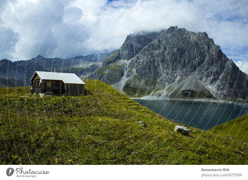 Traumhaus Natur Ferien & Urlaub & Reisen Wasser Landschaft ruhig Haus Freude Berge u. Gebirge Leben Stimmung Felsen Wohnung Zufriedenheit wandern Fitness