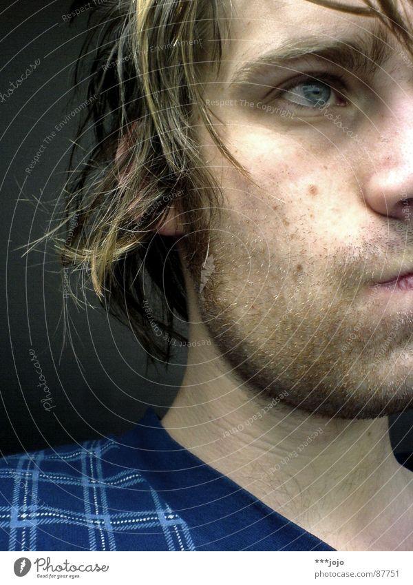 ...mist. schnee. Mann Gesicht Haare & Frisuren Graffiti lustig Geschwindigkeit geschlossen neu Bett kaputt gut lang Müdigkeit Selbstportrait Hälfte