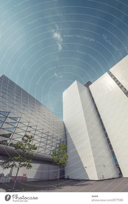 Trash 2016 | Zusammenfassung Himmel Natur Stadt Baum Umwelt Architektur Gebäude Fassade Design Arbeit & Erwerbstätigkeit Büro modern Hochhaus ästhetisch Zukunft