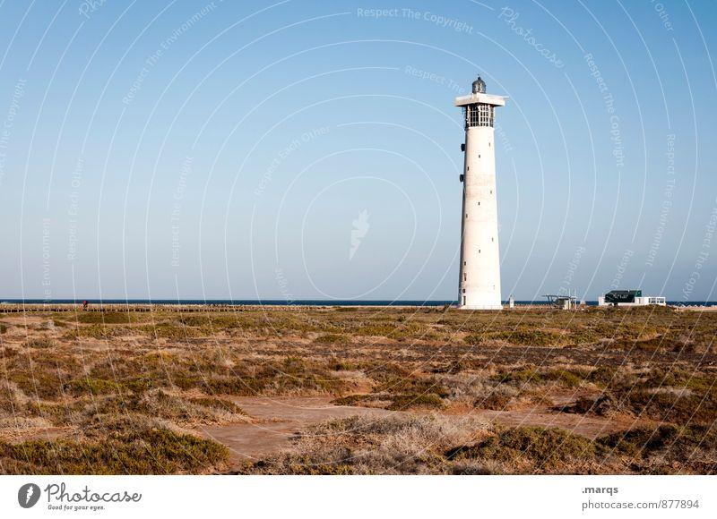 Nachtlicht Ferien & Urlaub & Reisen Tourismus Ausflug Sommer Sommerurlaub Leuchtturm Natur Landschaft Erde Wolkenloser Himmel Horizont Schönes Wetter Erholung