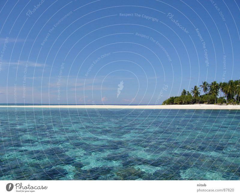 Philippines Sommer Strand Sand Küste Asien