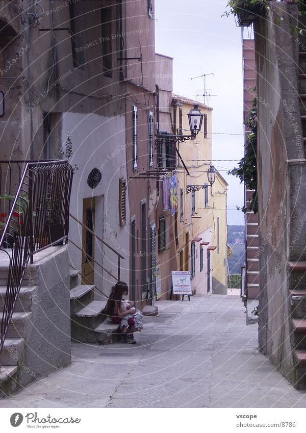 Bella Italia Italien Ferien & Urlaub & Reisen Stadt Gasse Kind Europa