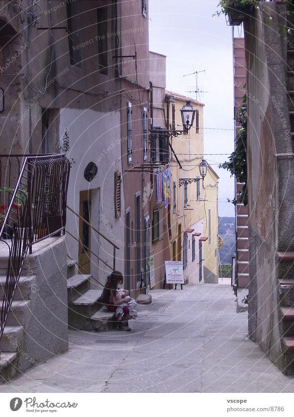 Bella Italia Kind Stadt Ferien & Urlaub & Reisen Europa Italien Gasse