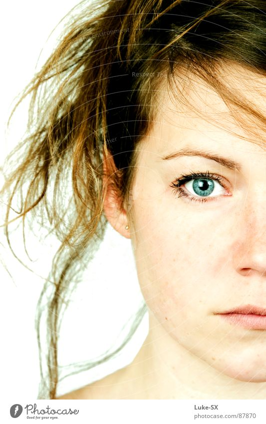 cathleen Frau Traurigkeit Denken blond Trauer Teilung