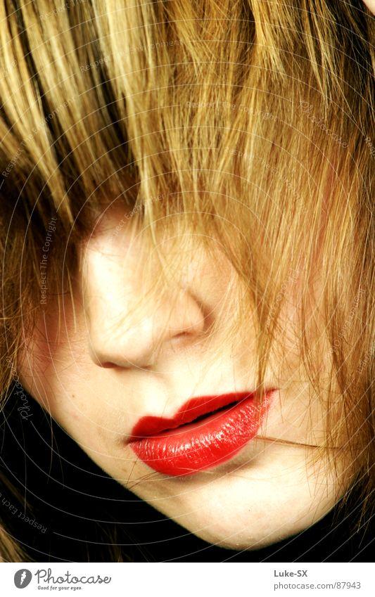 annes mund Primadonna Dame Lippen geheimnisvoll stark verführerisch intensiv Macht Haare & Frisuren verrucht elegante frau seltsam