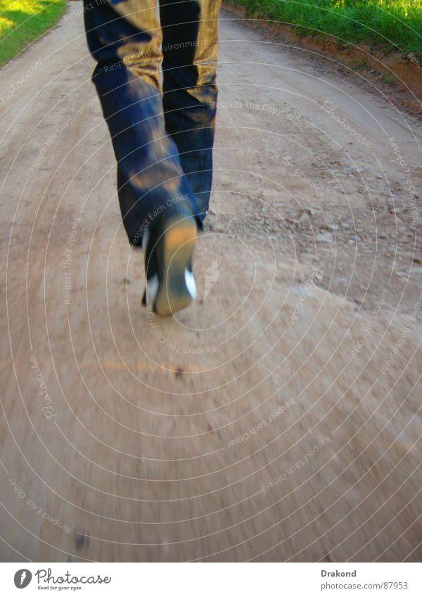 Curro Blume Freiheit Stein Luft Schuhe Feld wandern Hose Fahrbahn Cordoba