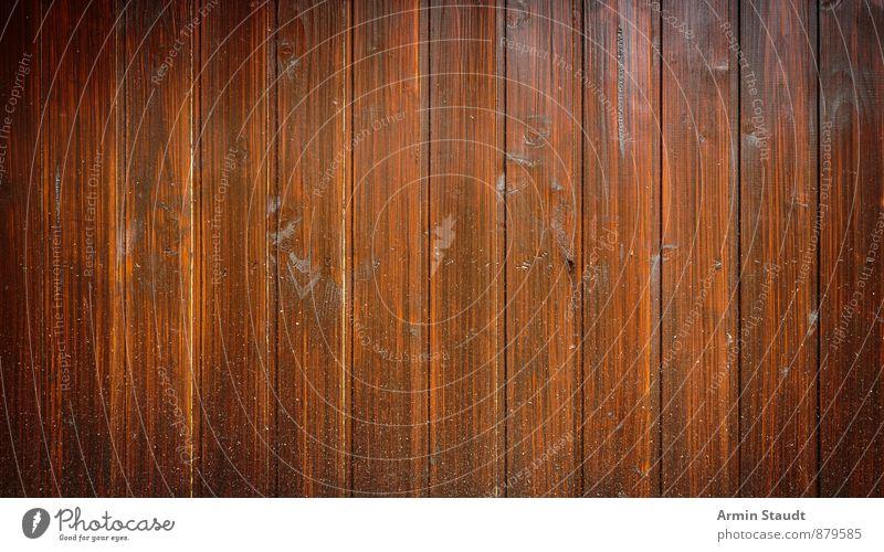 Braune Holzwand Hintergrund alt Wand Mauer Hintergrundbild Linie braun Fassade dreckig Design authentisch einfach Riss Holzbrett trashig gestreift