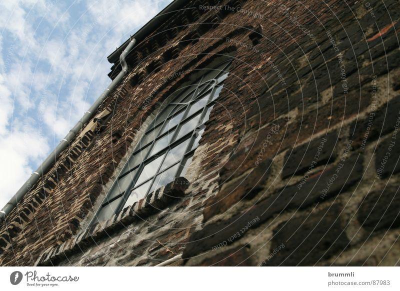 Zeche Dorstfeld Fenster Architektur Mauer braun Arbeit & Erwerbstätigkeit Glas dreckig Industriefotografie einfach historisch Lagerhalle gerade Dachboden