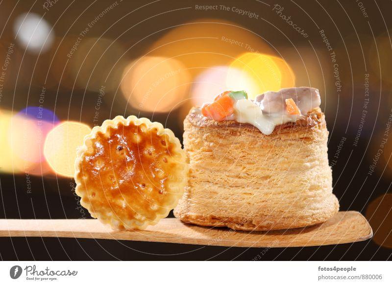 Vol-au-vent (Blätterteigpastete gefüllt mit Frikassee) Wärme Feste & Feiern genießen Kochen & Garen & Backen Gastronomie Gemüse Veranstaltung