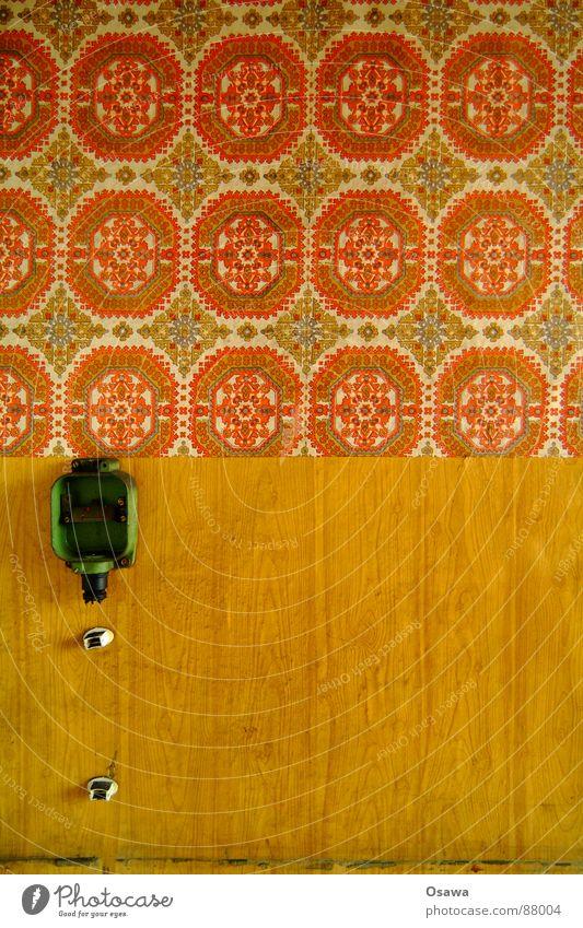 VEB Elektrokohle 02 Tapete Muster Design Leerstand beenden Steigrohr Mauer Einsamkeit desolat Wandverkleidung Sanieren resignieren Holz verfallen Schatten
