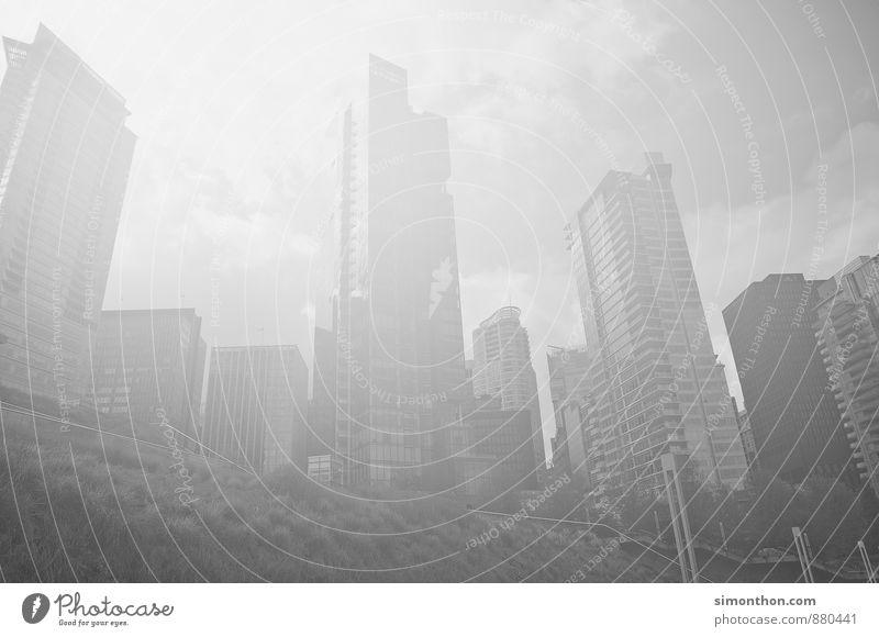Skyline Business Stadt Hauptstadt Stadtzentrum Haus Hochhaus Bankgebäude Architektur Fassade erleben Kapitalwirtschaft Gesellschaft (Soziologie) Horizont
