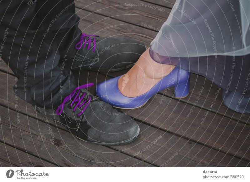 Schuhfreundschaft Lifestyle elegant Stil Design Freude Leben harmonisch Sinnesorgane Erholung Freizeit & Hobby Spielen Ausflug Abenteuer Freiheit Sightseeing