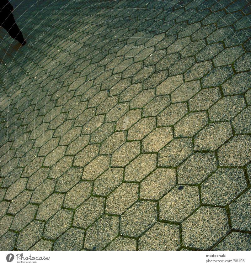 DISAPPEAR Einsamkeit Winter Haus Tod kalt grau Traurigkeit Gebäude Stein Eis Arbeit & Erwerbstätigkeit Treppe Beton trist Baustelle Trauer
