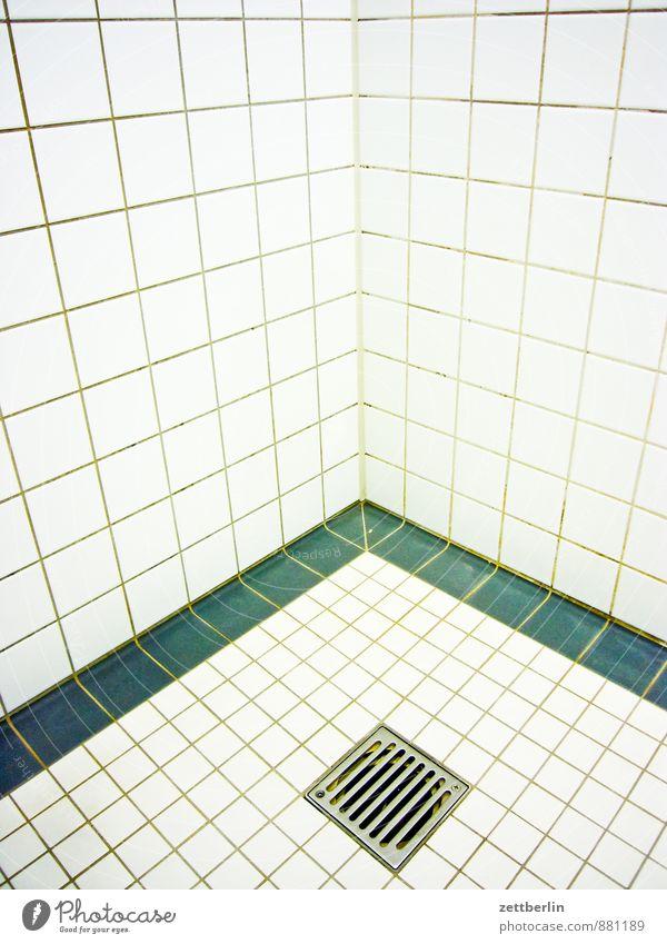Dusche weiß Erholung ruhig Wand Architektur Mauer Gesundheit Gesundheitswesen Wohnung Raum Lifestyle Häusliches Leben Fitness Sauberkeit Bad Wellness