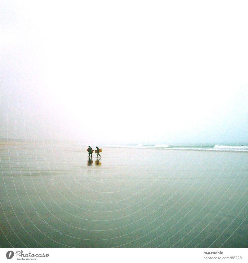 same time.more light Mensch Natur Meer Strand Einsamkeit Ferne Sport kalt Teile u. Stücke Surfen Australien