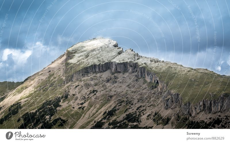Hoher Ifen Ferien & Urlaub & Reisen Tourismus Ausflug Abenteuer Ferne Freiheit Berge u. Gebirge wandern Natur Landschaft Himmel Wolken Sommer Wetter Hügel
