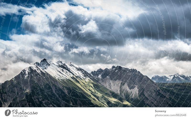 Berge der guten Hoffnung Ferien & Urlaub & Reisen Tourismus Ausflug Abenteuer Ferne Freiheit Himmel Wolken Sommer Wetter Felsen Alpen Berge u. Gebirge Allgäu