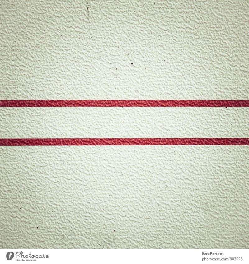 Doppellinie Farbe weiß rot grau Linie dreckig Design leuchten paarweise Streifen Grafik u. Illustration Kunststoff graphisch Wohnwagen Wohnmobil Karosserie
