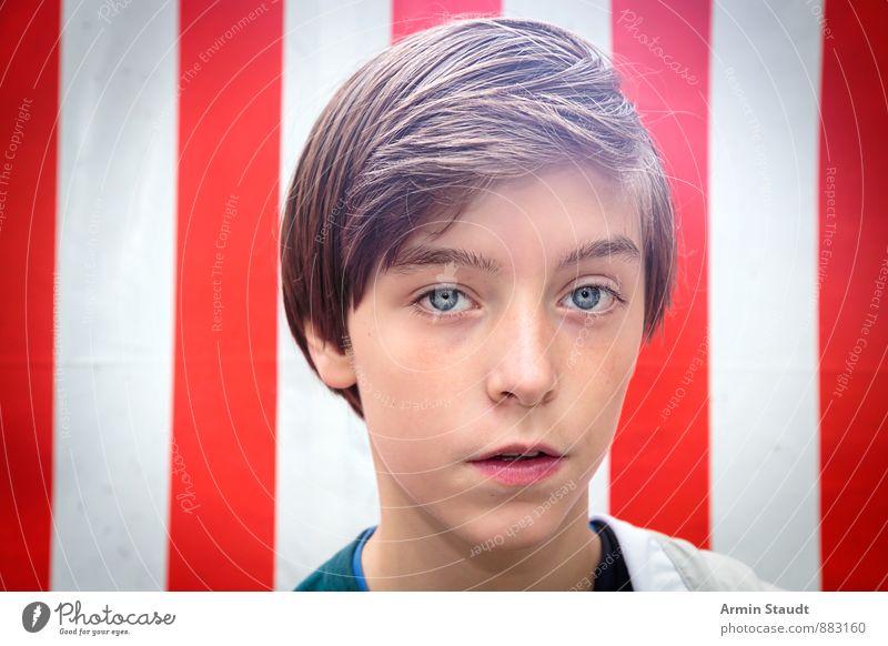 Hey, hey Wickie Mensch Kind Jugendliche schön weiß Sommer rot natürlich Stil Haare & Frisuren Stimmung Kopf maskulin Design authentisch 13-18 Jahre