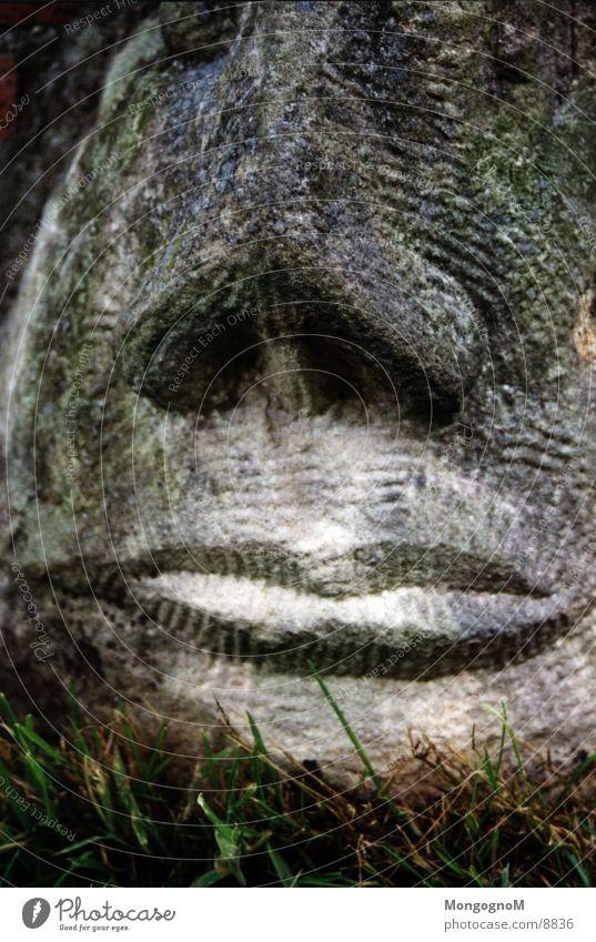 Steingesicht Dinge Gesicht