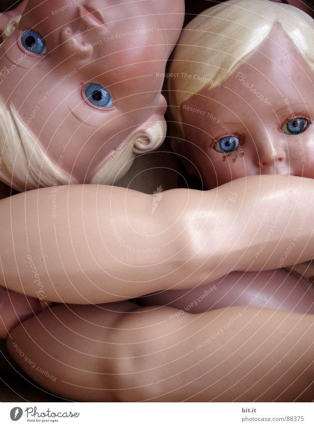 CELLULOID - ERSATZ III Puppendoktor Smiley Ösenschraube Glasauge Zeuge Gesicht Hautfarbe schön Skulptur alt Publikum Partnerschaft Schrott Schaufensterpuppe