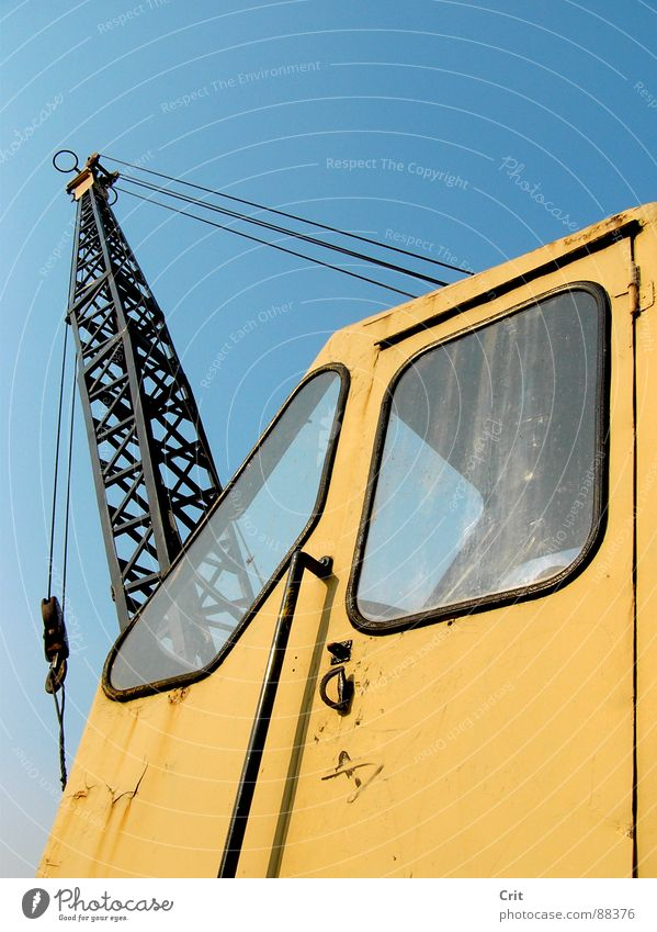 crane Design Monster Industrie build construction make god create vehicle machine