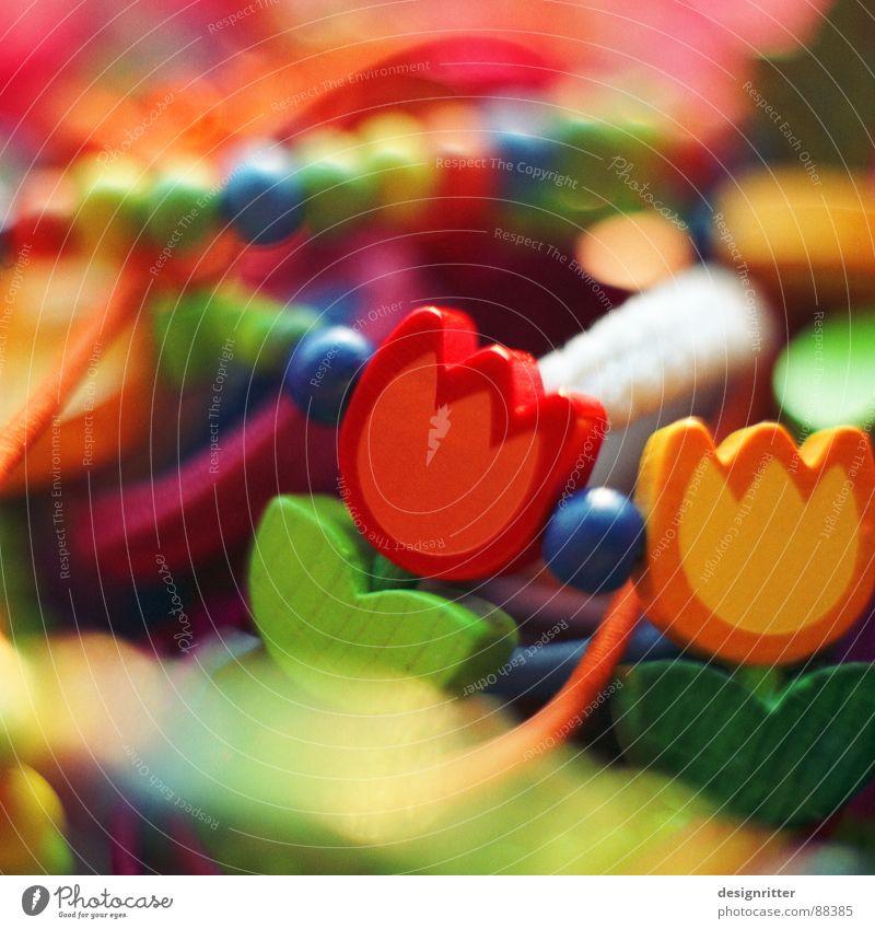 Schmuckkästchen Holz mehrfarbig Kreis Kindheit Kette Armband Holzmehl