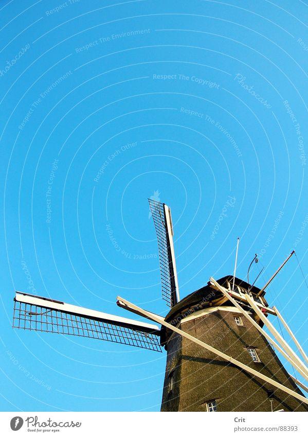 windmill Himmel Wind Industrie Energiewirtschaft Bauernhof sehr wenige old-school