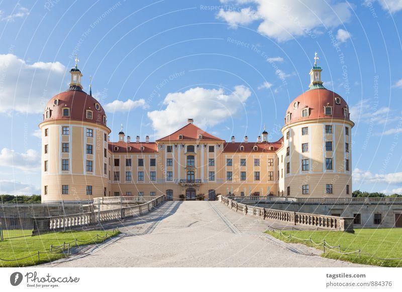 SCHLOSS MORITZBURG Ferien & Urlaub & Reisen Reisefotografie Architektur Deutschland Idylle Tourismus Kultur Burg oder Schloss Postkarte Vergangenheit Reichtum