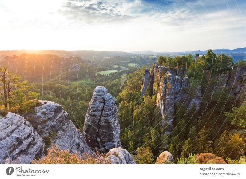 NATUR II Natur Ferien & Urlaub & Reisen Baum Erholung Wald Berge u. Gebirge Reisefotografie Architektur Felsen Deutschland Idylle Tourismus Aussicht Postkarte