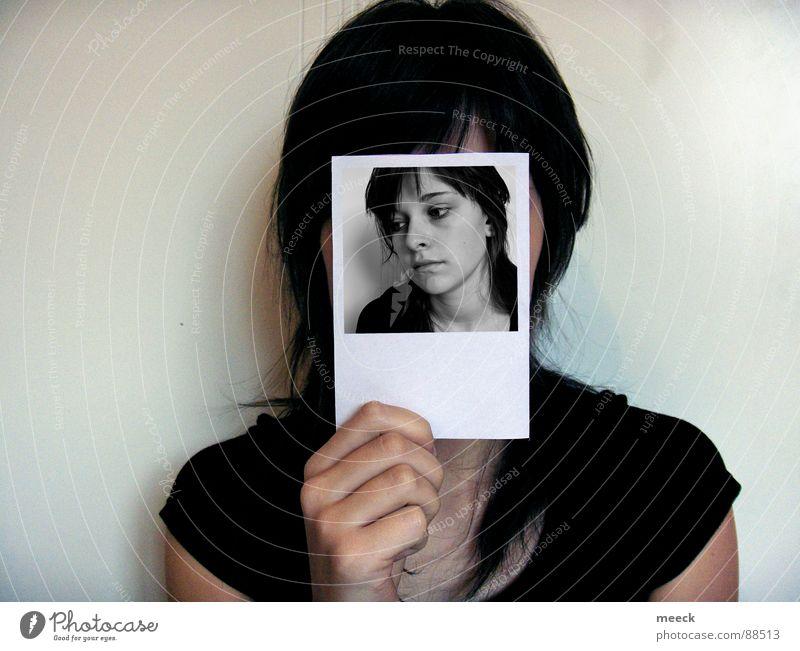 1 Sekunde ICH Fotografie Mensch ich Gesicht eine Person Selbstbildnis Hilfsbedürftig Hilfesuchend Zeit