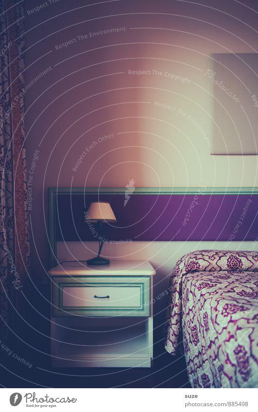 Bereit zum Zerwühlen Lifestyle Stil Design Innenarchitektur Dekoration & Verzierung Möbel Lampe Bett Raum Schlafzimmer Dienstleistungsgewerbe Freundlichkeit