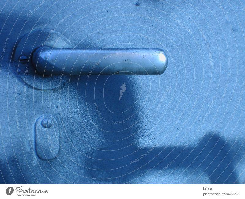 türklinke blau Dinge Griff