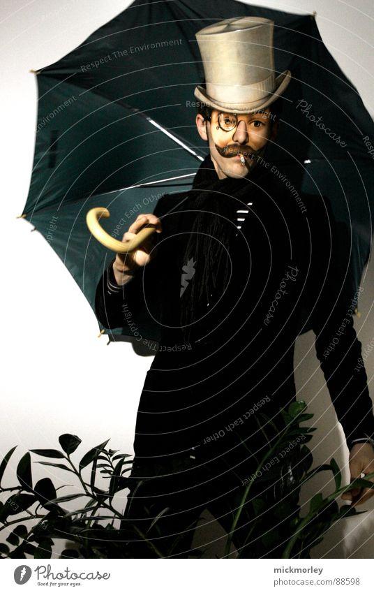 maskenball III Maskenball Kavalier Smoking Anzug Angeben Kunst Kultur Ball Oper zigarillo Hut Bohemien Theaterschauspiel Show Inszenierung