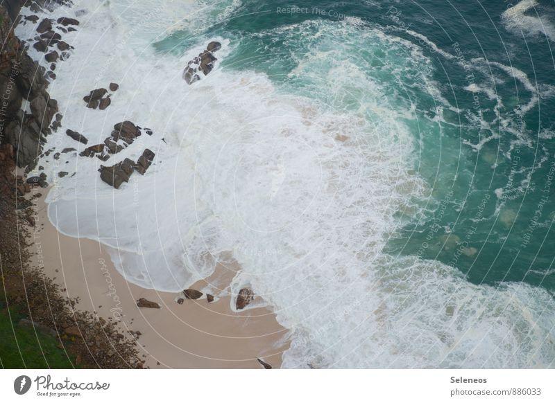 abgrundtief Ferien & Urlaub & Reisen Ausflug Abenteuer Ferne Freiheit Sommer Sommerurlaub Sonne Sonnenbad Strand Meer Wellen Umwelt Natur Landschaft Wasser