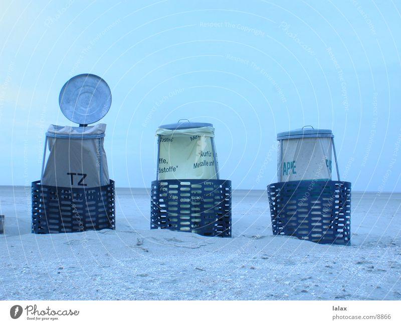 strandmülleimer Strand Dinge Müllbehälter