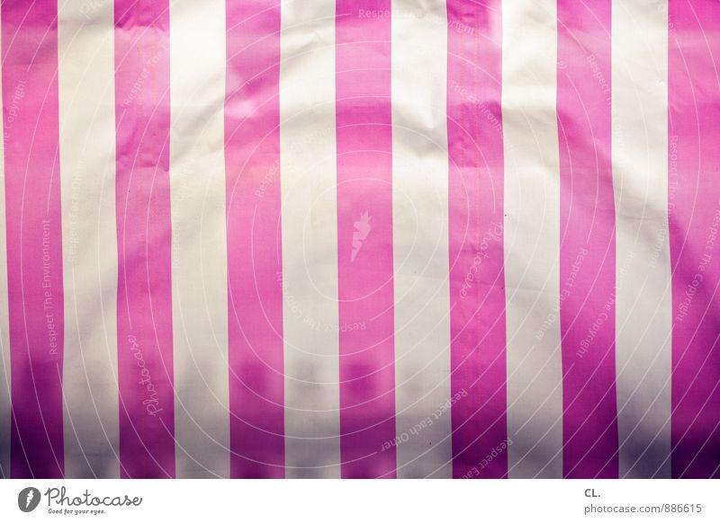           weiß Linie rosa ästhetisch Streifen Kunststoff Stoff Falte vertikal Verpackung Kunststoffverpackung Abdeckung Faltenwurf Verpackungsmaterial