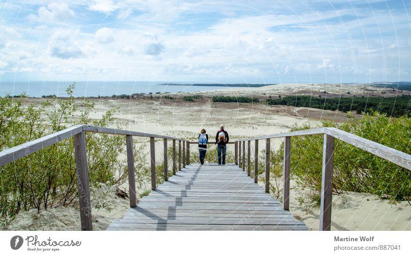 Wanderdüne? Natur Ferien & Urlaub & Reisen Landschaft Ferne Sand Europa Bucht Ostsee Sehenswürdigkeit Litauen