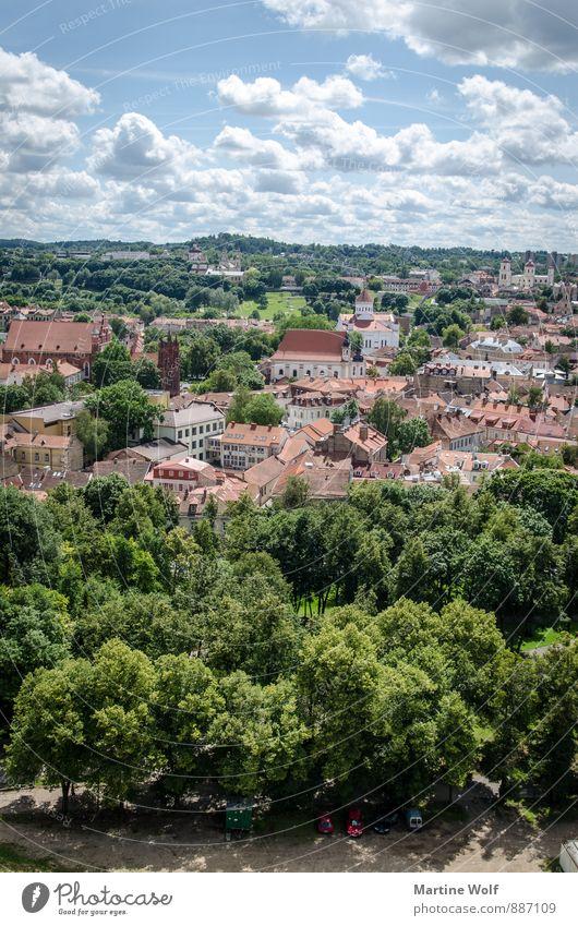 Vilnius Ferien & Urlaub & Reisen Stadt Europa Stadtzentrum Hauptstadt Sehenswürdigkeit Altstadt Vilnius Litauen