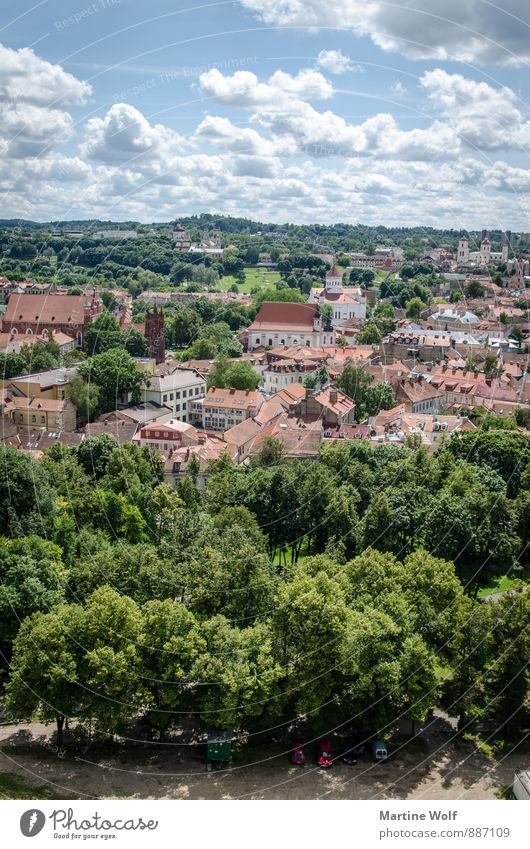Vilnius Ferien & Urlaub & Reisen Stadt Europa Stadtzentrum Hauptstadt Sehenswürdigkeit Altstadt Litauen