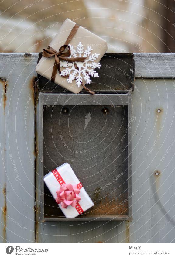Weihnachtsmailing Weihnachten & Advent Geburtstag Briefkasten Verpackung Paket Kasten Dekoration & Verzierung Schleife Gefühle Stimmung Vorfreude Geschenk Post