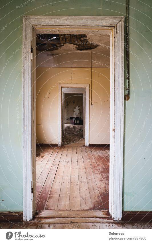 Tag der offenen Türen Häusliches Leben Wohnung Haus Renovieren Umzug (Wohnungswechsel) einrichten Innenarchitektur Raum Namibia Ruine Mauer Wand alt Gefühle