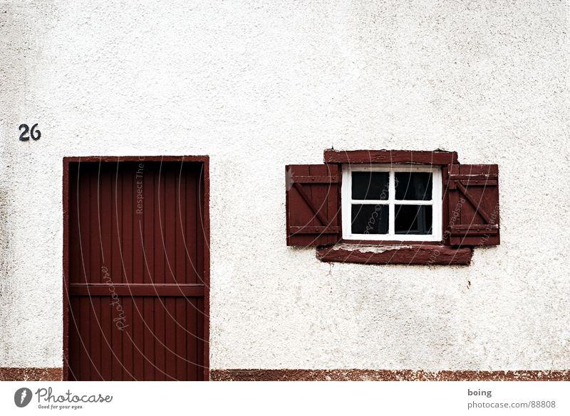 SUBURBANLOVE™ | 26 Gebäude Bauernhof Hof Haus Dorf Fenster Häusliches Leben live Architektur Handwerk Scheune Tür Tor Fensterladen Treppe Eingang Ausgang