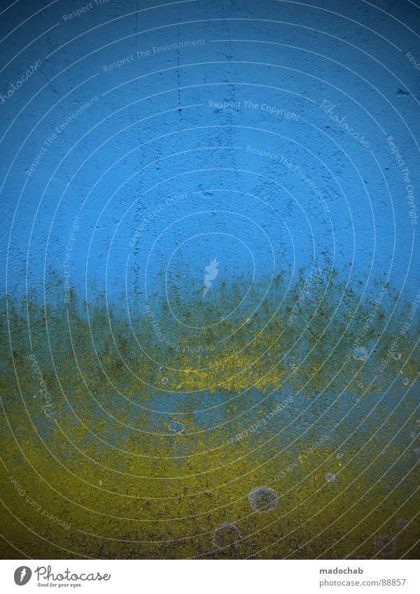 DEM DINGSBUMS SEIN FADDA schön gelb Farbe Stil Denken dreckig Hintergrundbild Zeit Verkehr einfach Vergänglichkeit Streifen Zeichen trashig Hinweisschild Grafik u. Illustration