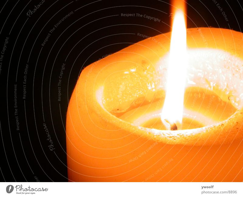Flamme Kerze Dinge Flamme