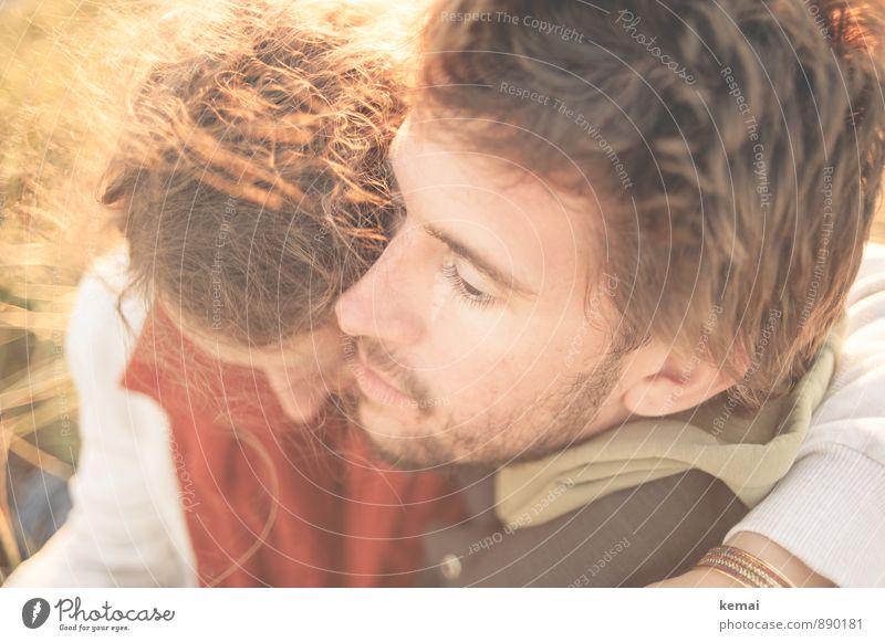 We are Lifestyle Mensch maskulin feminin Junge Frau Jugendliche Junger Mann Paar Partner Erwachsene Leben Kopf 2 18-30 Jahre 30-45 Jahre Denken schaukeln sitzen