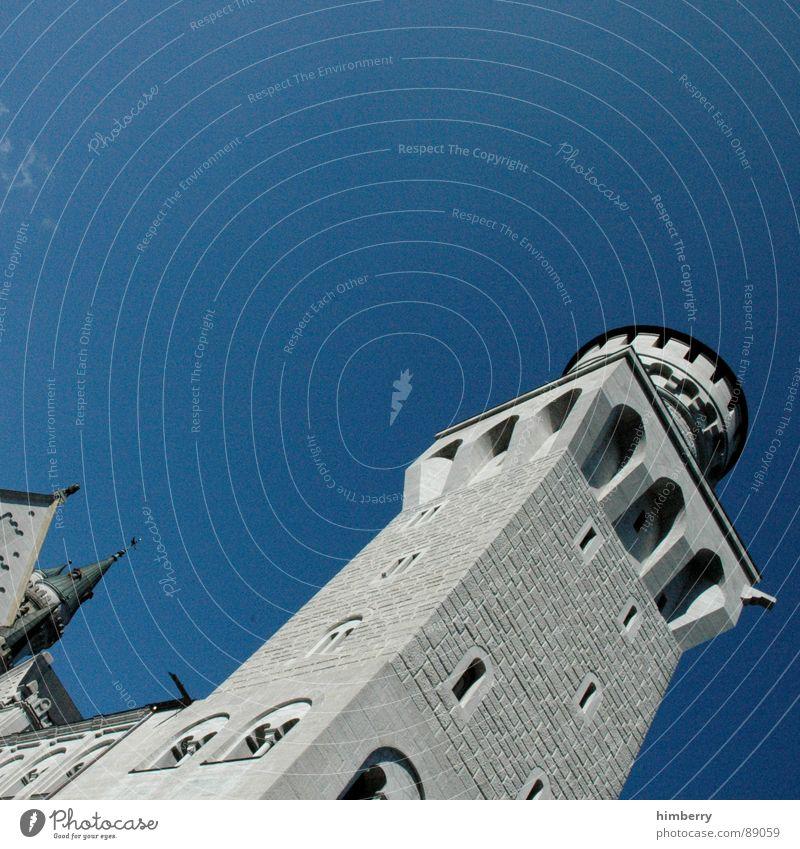 eternal mystery Deutschland Turm Burg oder Schloss Denkmal historisch Wachsamkeit Wahrzeichen König Palast Rückzug Neuschwanstein Wachturm Königlich